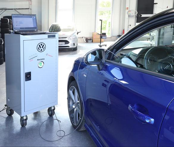 Diagnosesystem VW, Audi, Seat, Skoda